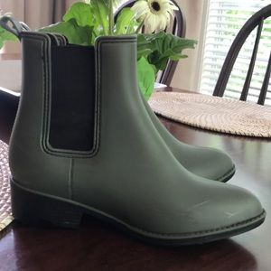 Urban Outfitters rubber booties GUC